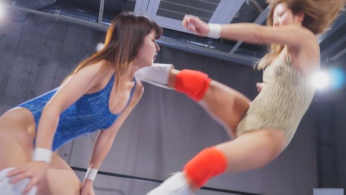 女子プロレス タイトルマッチ リンコス 渡良瀬りほ 山岡りりな
