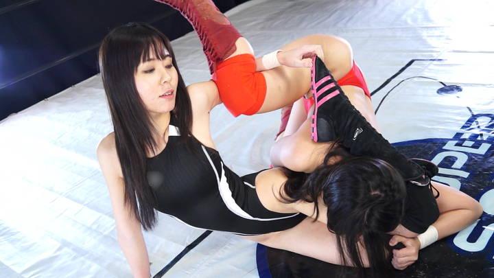 SSS 女子プロレス 尾嶋みゆき 華宮花  キャットファイト
