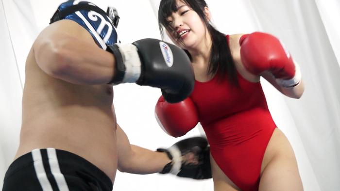 ロリ系 美少女ボクサー エロボクシング 猫田りく ハウスメント