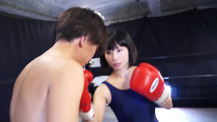 ミックスボクシング さくらここる クロスカウンター 男対決