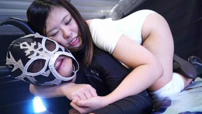 女子プロレス M格闘 松波しずか
