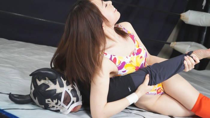 女子プロレス キャットファイト三井カンナ