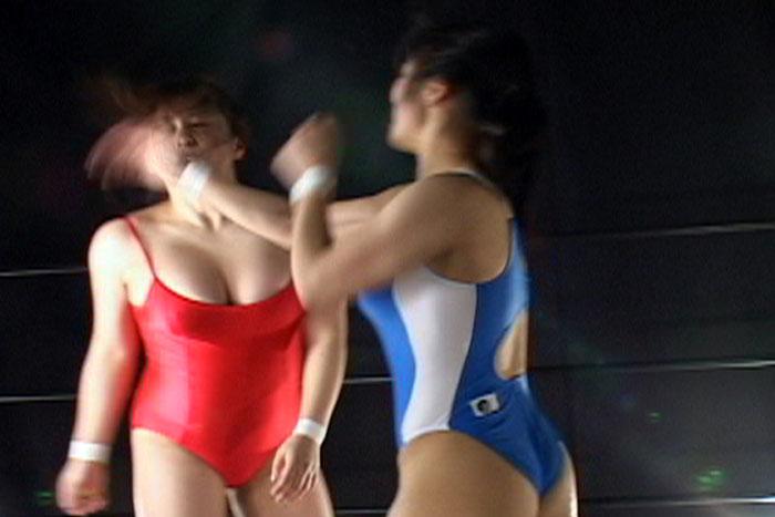 プロレス 国見奈々 七瀬ゆい セクシー トーナメント