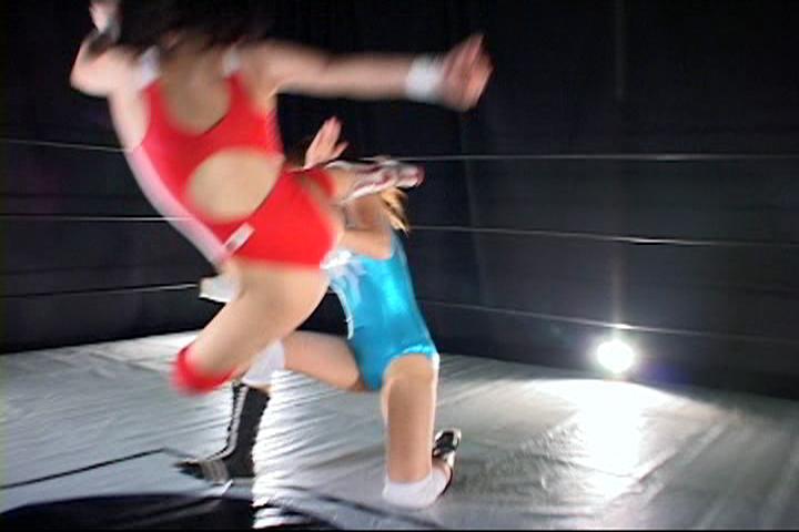 女子プロレス 女子プロレス  国見奈々 安藤あいか SSSトーナメント ハイキック