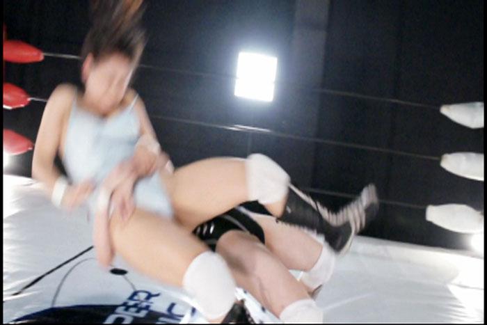 ミックスプロレス キャットファイト 中居ちはる 後藤リサ