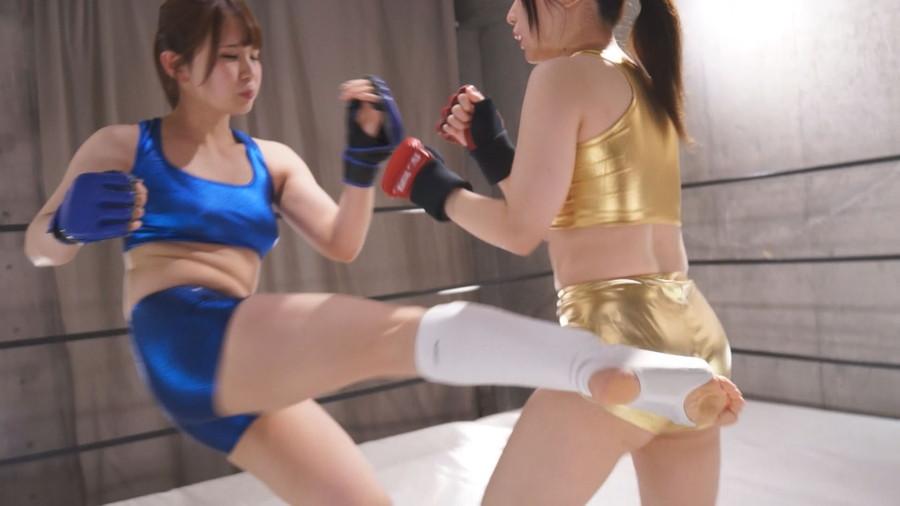 女子キックボクシング 山本蓮加  小野こまり  美女