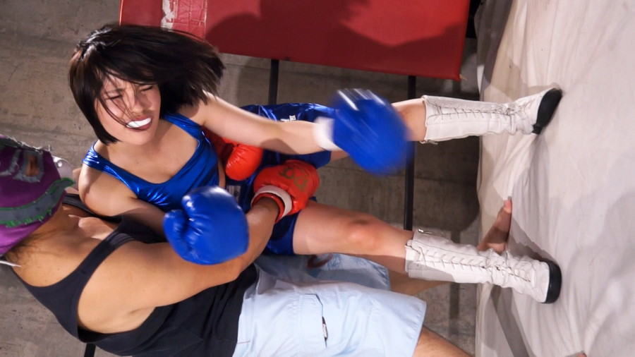 ボクシング 八尋麻衣 佐藤りこ