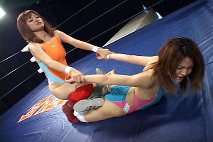 女子プロレス キャットファイト Tバック B-1トーナメント 北岡明菜 花岡みずき