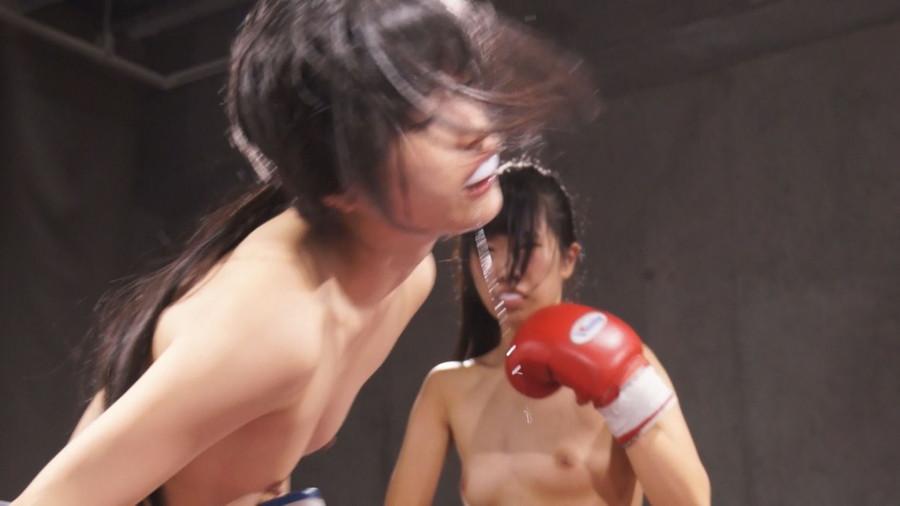 女子ボクシングボクシング 水嶋アリス  神楽アイネ