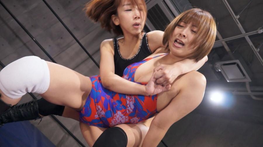 女子プロレス キャットファイト 最上さゆき 優木なお
