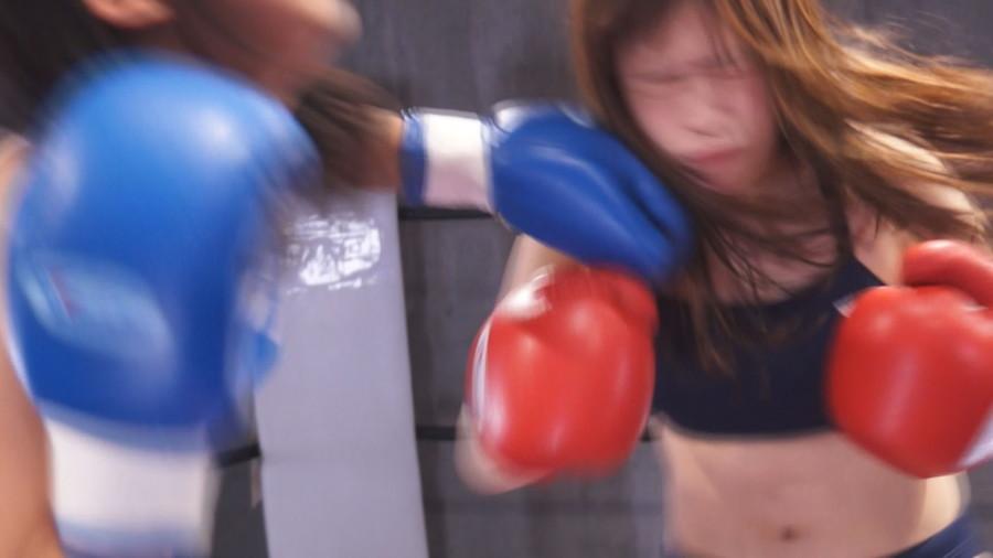 女子ボクシング 咲坂花恋  葉月もえ