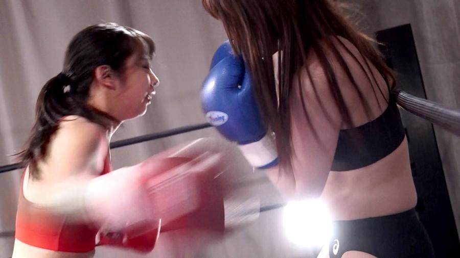 女子ボクシング 咲坂花恋  若月まりあ 美女