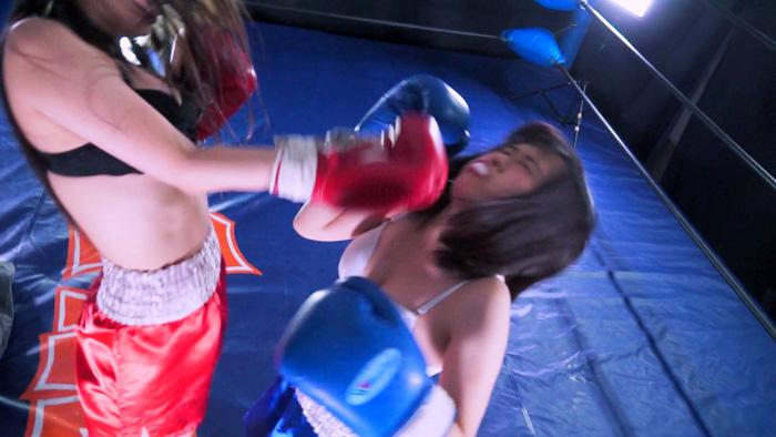 青トランクス 女子ボクシング 香山亜衣 なつめ愛莉 顔面パンチ