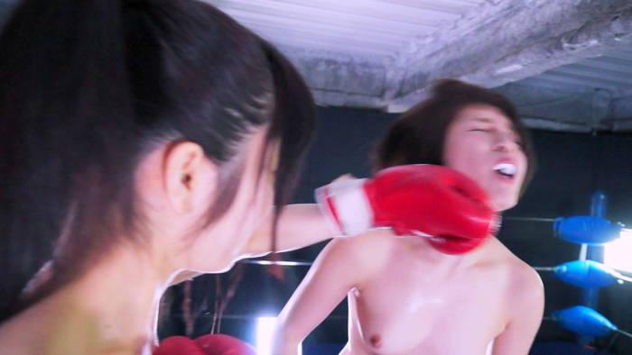 女子ボクシング FGI 夏川ひまり 椎名華 顔面パンチ