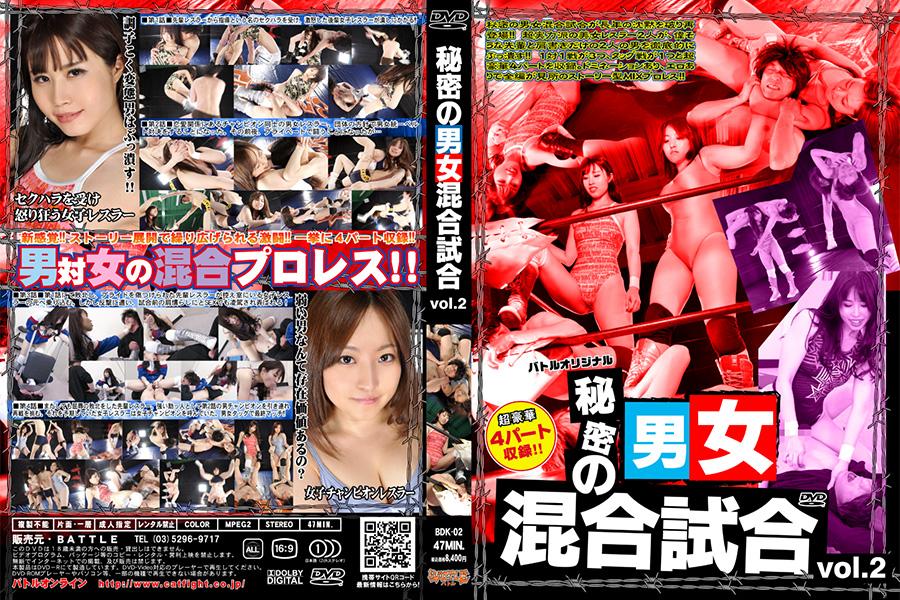 秘密の男女混合試合 Vol.2 パッケージ画像