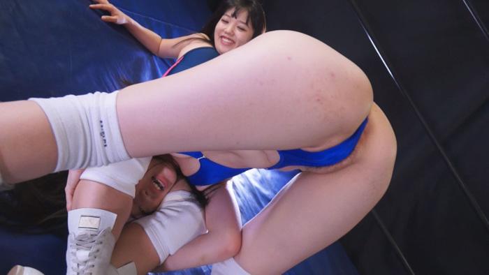 女子プロレス キャットファイト バトル 西口あられ 白桃心奈