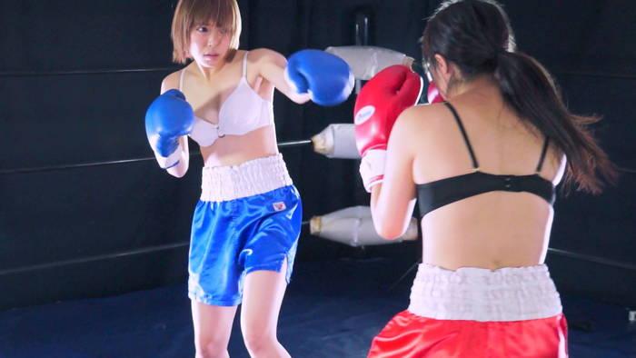 女子ボクシング 金城真央  生駒はるな