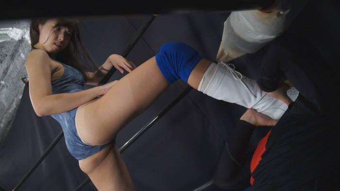 女子レスラー MIXプロレス M格闘 横山夏希 冴君麻衣子