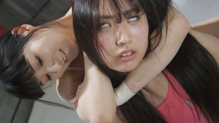 女子プロレス キャットファイト 川崎亜里沙 成宮ありあ