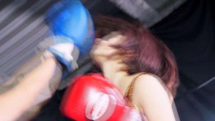 MIXボクシング アッパーカット 早川瑞希