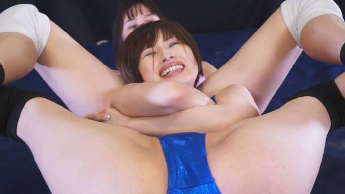 女子プロレス キャットファイト マスターズチャンピオン 江上しほ 日高結愛