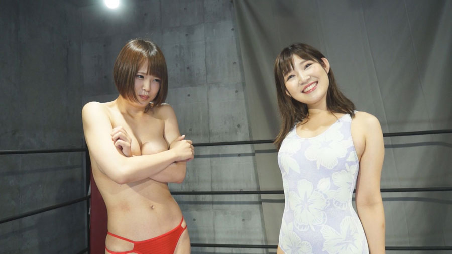 女子プロレス 巨乳 トップレス 真田美樹 市橋えりな