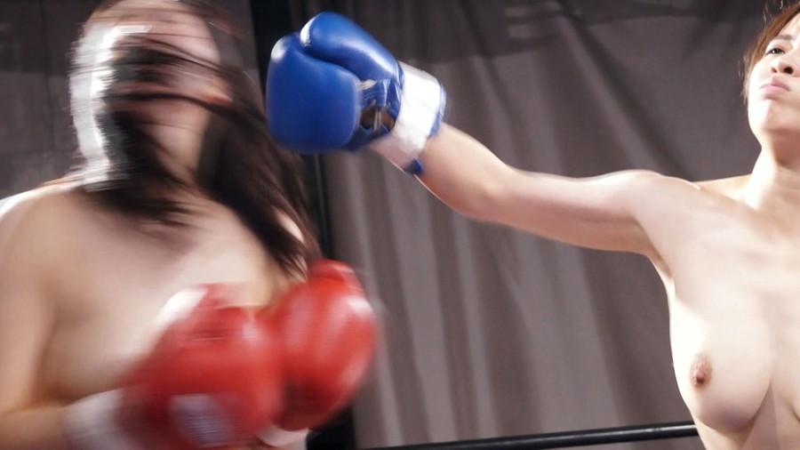 トップレスボクシングボクシング 相澤ゆりな  新垣智江 巨乳