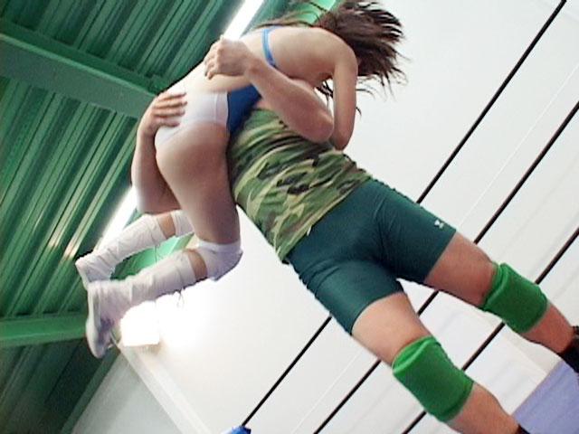 女子プロレス ミックスキャットファイト M格闘 春日なみ