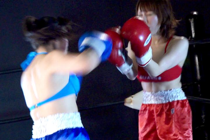 女子ボクシング 元グラドル 金城真央  南美穂