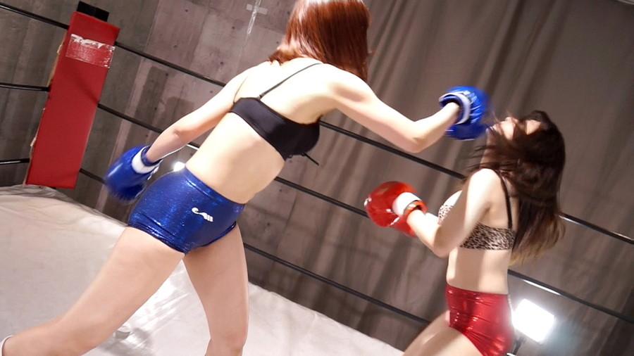女子ボクシング mico  山本蓮加 トップレスボクシング 美乳