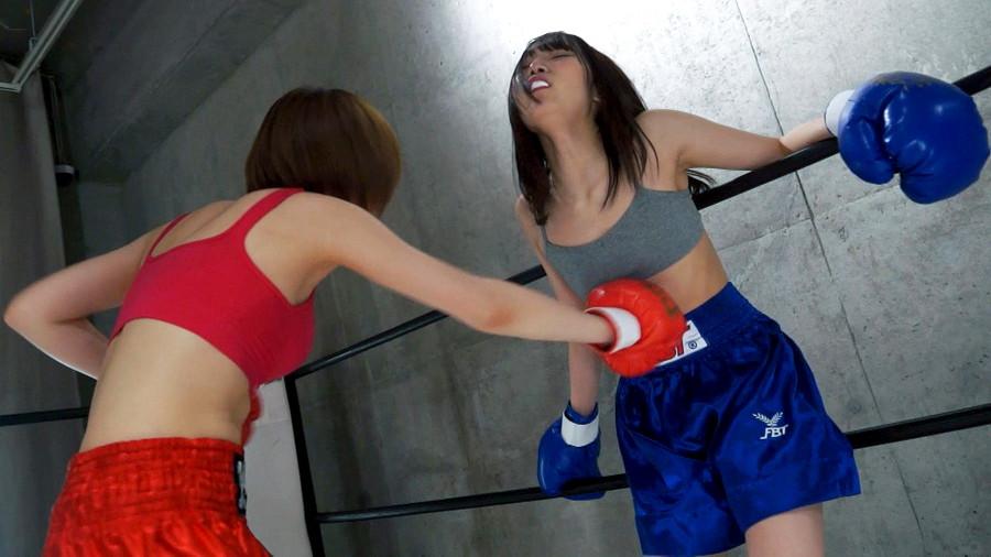 女子ボクシング ののか  夢乃美咲 トップレスボクシング 美乳