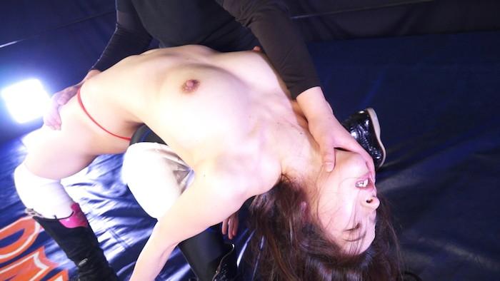 女子プロレス キャットファイト 男対決 二宮和香