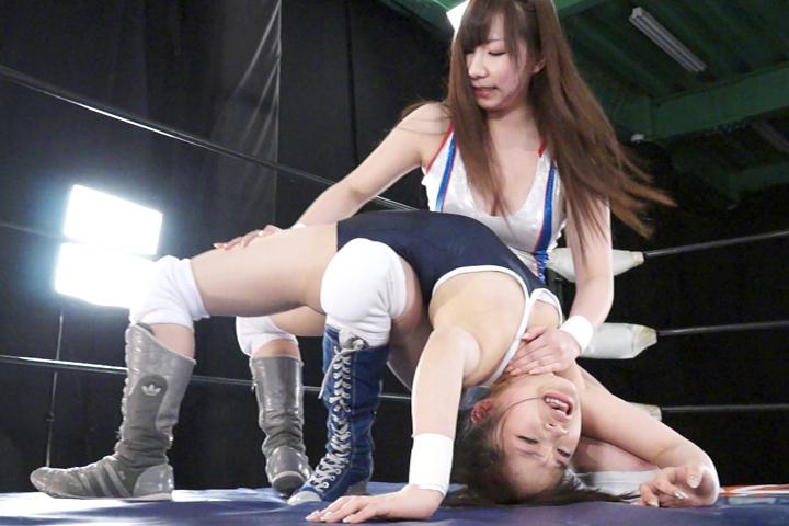 女子プロレス BWP キャットファイト 日向美咲  大桃りさ