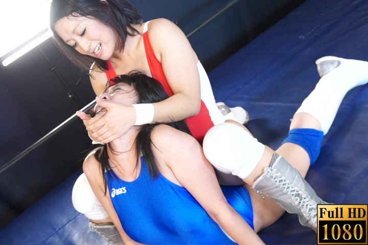 キャットファイト 女子プロレス  国見奈々 金城真央 特別試合 リンコス