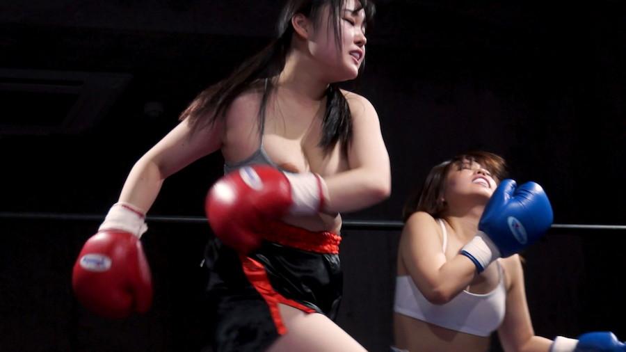女子ボクシング さくらみゆき  若本あん  女子ボクシング