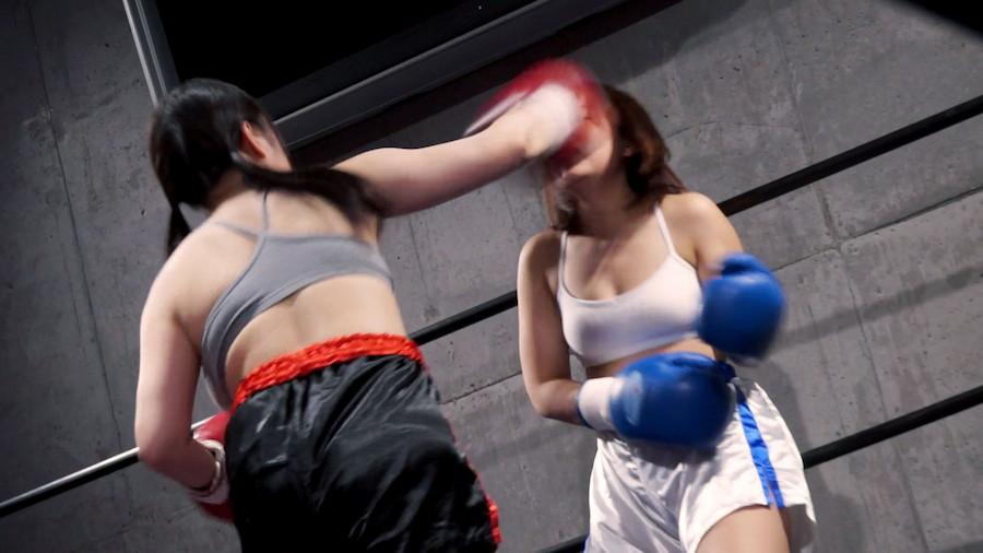 トップレスボクシングボクシング さくらみゆき  若本あん  巨乳