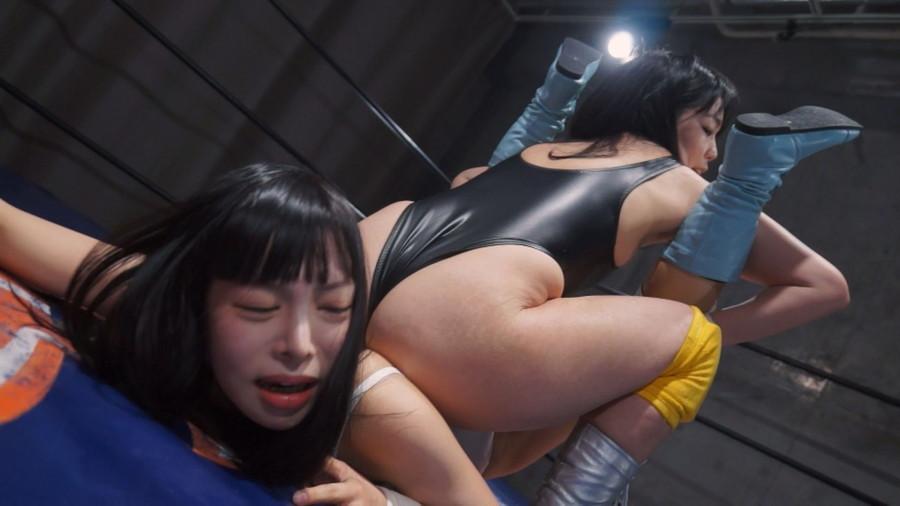 女子プロレス キャットファイト 乃木ちはる  愛田せいら