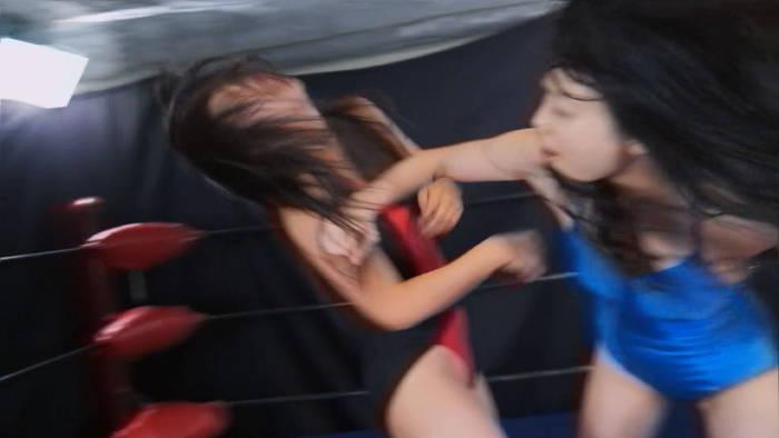 ファイティングガールズ 女子プロレス YUE 南瀬奈 女子プロレス