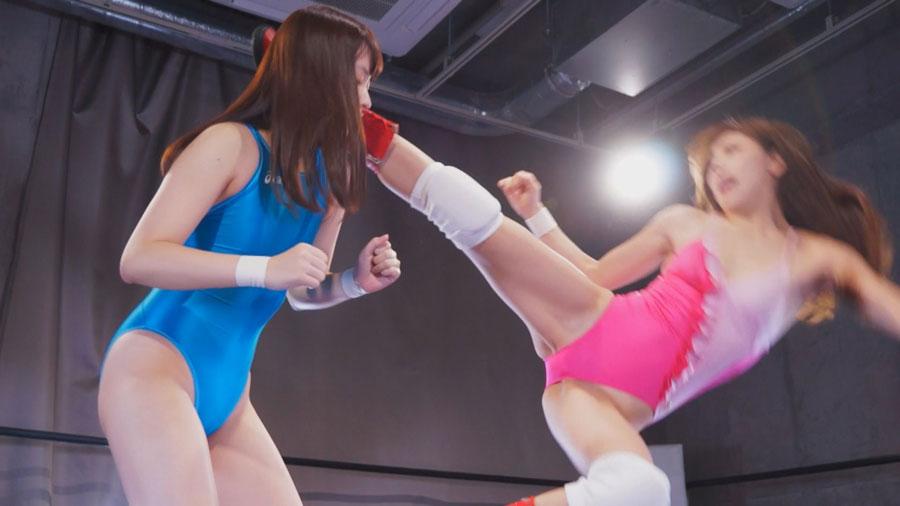 女子プロレス キャットファイト 桜木優希音 星川凛々花