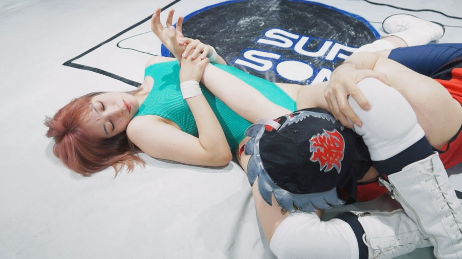 女子プロレス キャットファイト 男対決 YUE