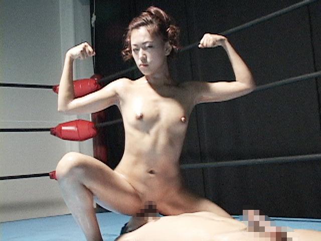 肉食系マッスル女子がM男を喰らう!!ザ・ドミネーションSEX4