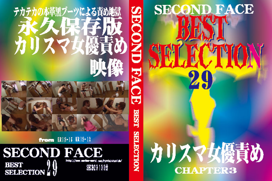 SECOND FACE BEST SELECTION 29 カリスマ女優責め CHAPTER3