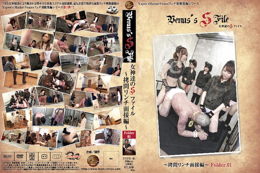 女神達のSファイル 拷問リンチ面接編 Folder.01