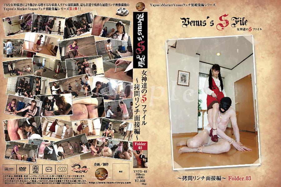 女神達のSファイル 拷問リンチ面接編 Folder.03